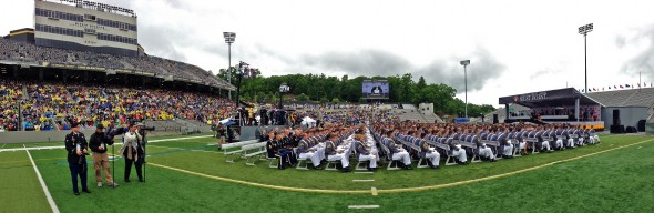 West Point grad pano 1