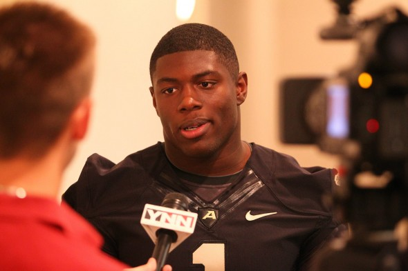 Army football media day (Danny Wild) (2)