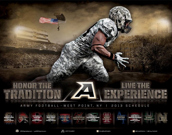 army football poster 2013
