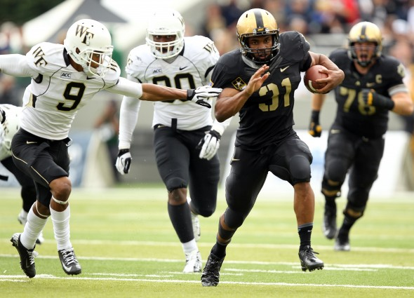 NCAA Football: Wake Forest at Army