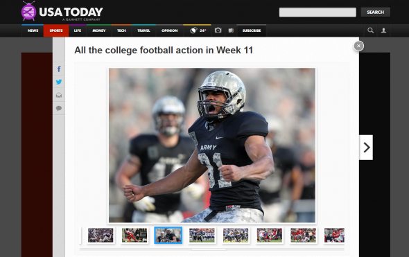 All the college football action in Week 11