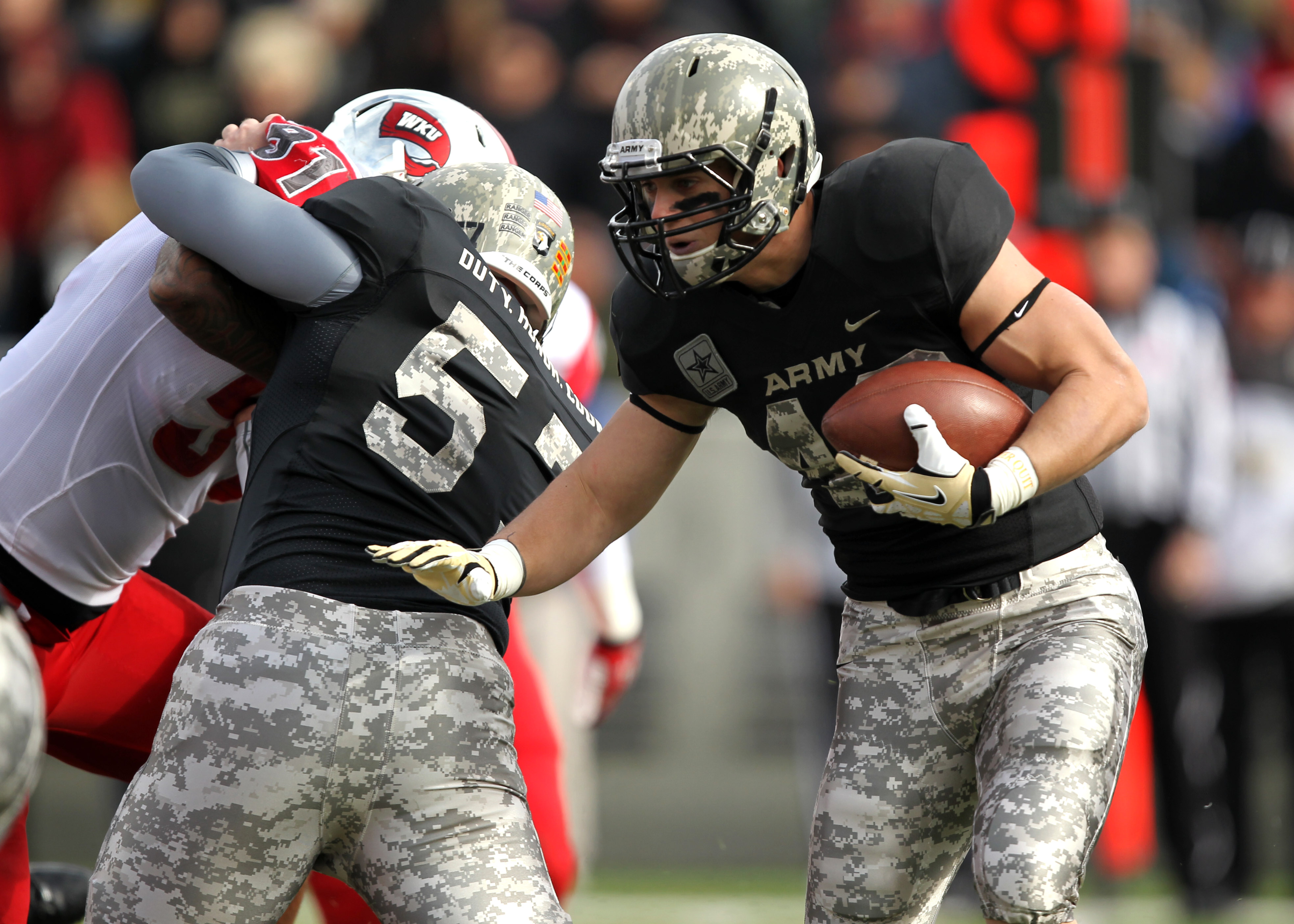 Army's struggles continue in late loss to WKU | Danny Wild