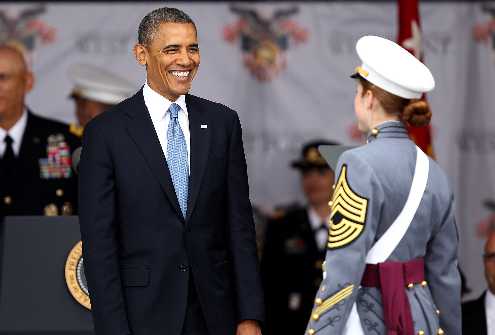 obama talks leadership military s future in 2014 west point