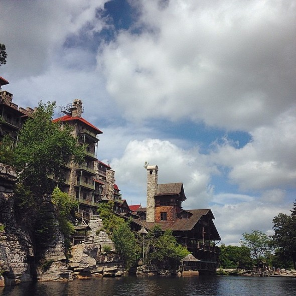 Mohonk Mountain House from Lake