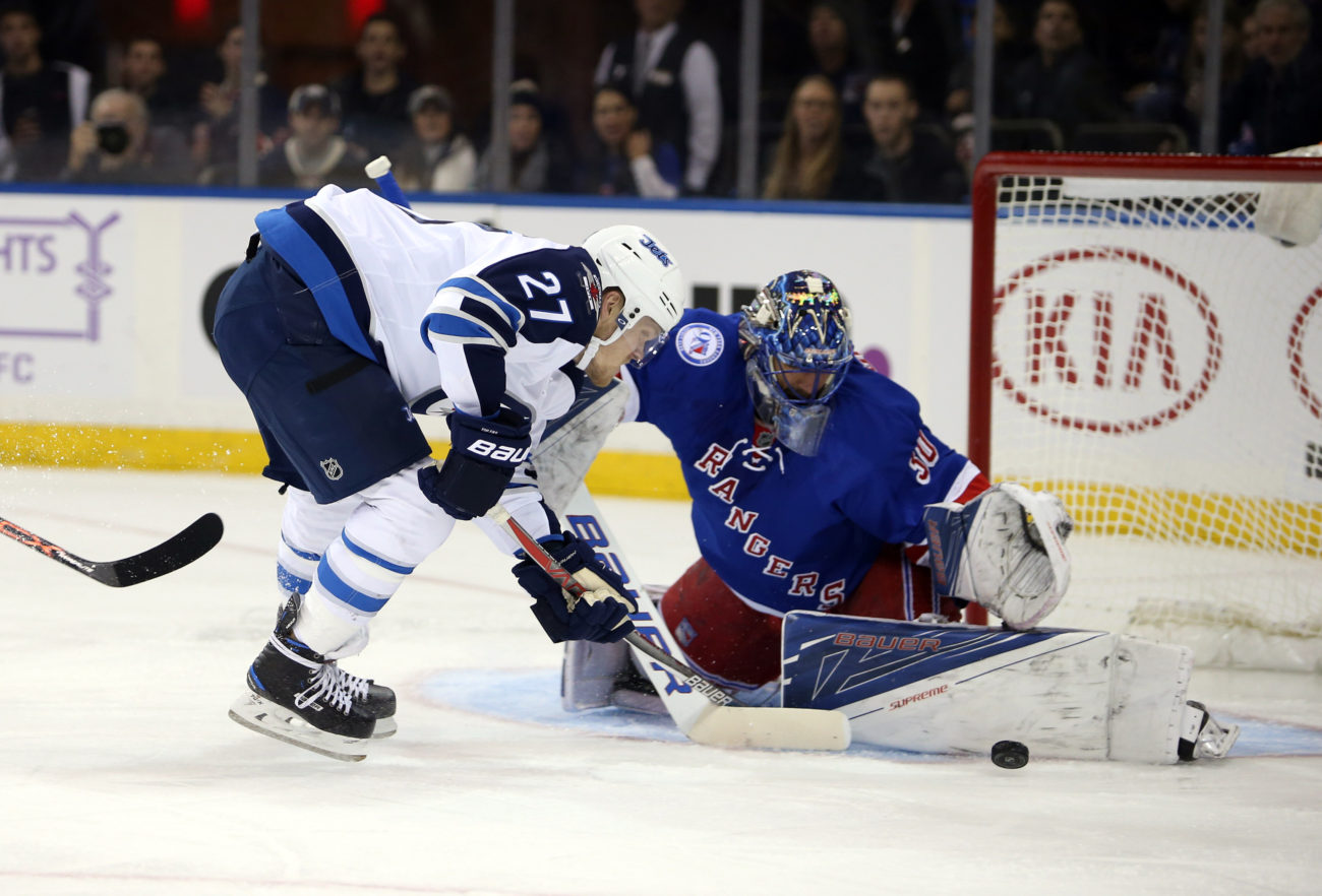 NHL: Winnipeg Jets at New York Rangers