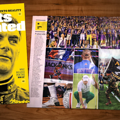 Army s tribute featured in sports illustrated